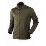 Harkila Norfell full zip fleece in Willow Green